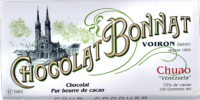 Tablette Chocolat Bonnat Origine Venezuela Chuao