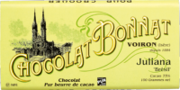 Tablette Chocolat Bonnat Origine Brésil Juliana