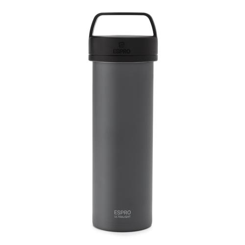 Mug à piston de voyage Gris - Espro® Ultralight - 35cl