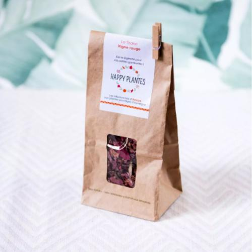 La tisane Vigne rouge - Sac kraft 25 Gr | HAPPY PLANTES