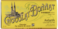 Tablette Chocolat au lait Bonnat Asfarth