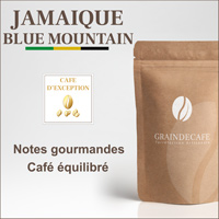 Café en grain | Jamaïque Blue Mountain [ 125 Gr ]