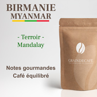 Birmanie Shan Estate : 250 Gr - Grain