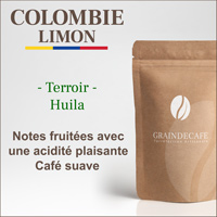 Café en grain | Colombie Limon : 250 Gr