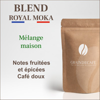Café en grain | Blend Royal Moka : 250 Gr