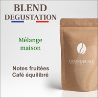Café en grain | Blend Dégustation 100 % arabica : 250 Gr