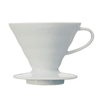 Dripper V60 céramique blanc 4 Tasses