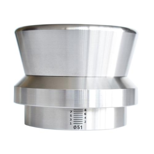 Level Tamper réglable Stainless Inox & Alu ø51mm HS73239300| JoeFrex