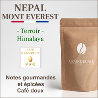 Café en grain | Nepal Mont Everest Supreme : 250 Gr