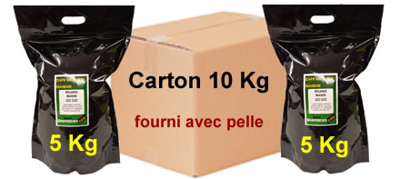 acheter du caf en gros carton de 10 kg de caf en grain ou moulu. Black Bedroom Furniture Sets. Home Design Ideas